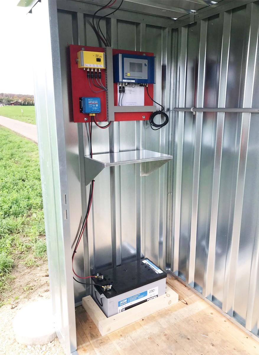 Brunnenüberwachungsstation Grundwasser Messtation GO CH